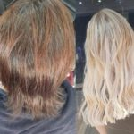 hair salon best extensions sydney salon before and after