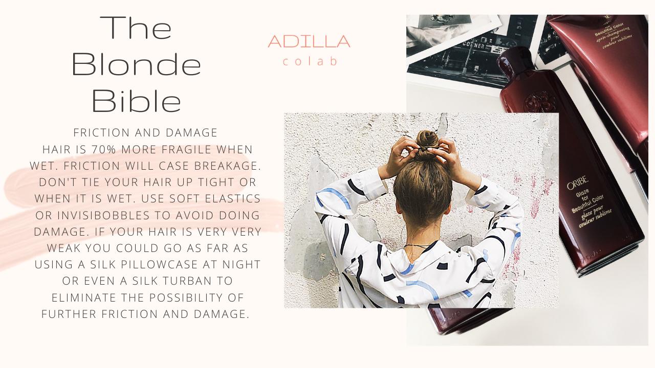 blonde bible hair